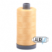 Aurifil 28 Cotton Thread - 2130 (Custard Yellow)